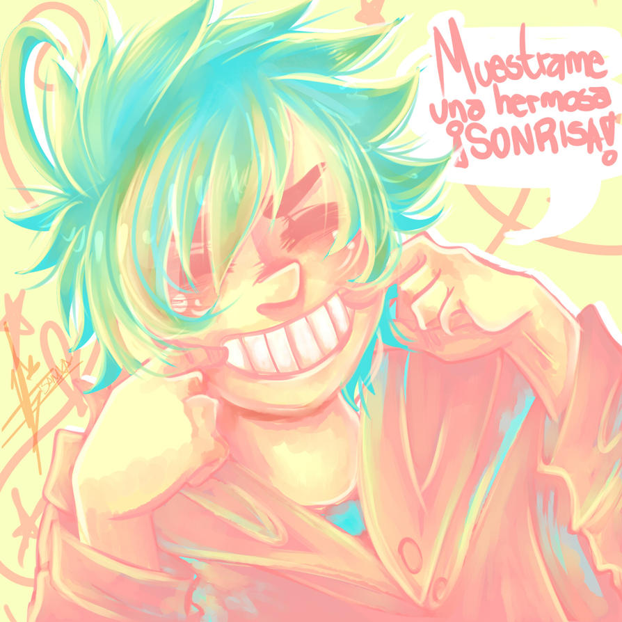 Give me a Smile! (SpeedPaint) by Isanika