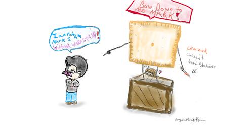 Markiplier Fan Art Crazed Cheese It  Butt Stabber by AngieTheInsaneCat83