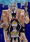 Batgirl and Commissioner Gordon