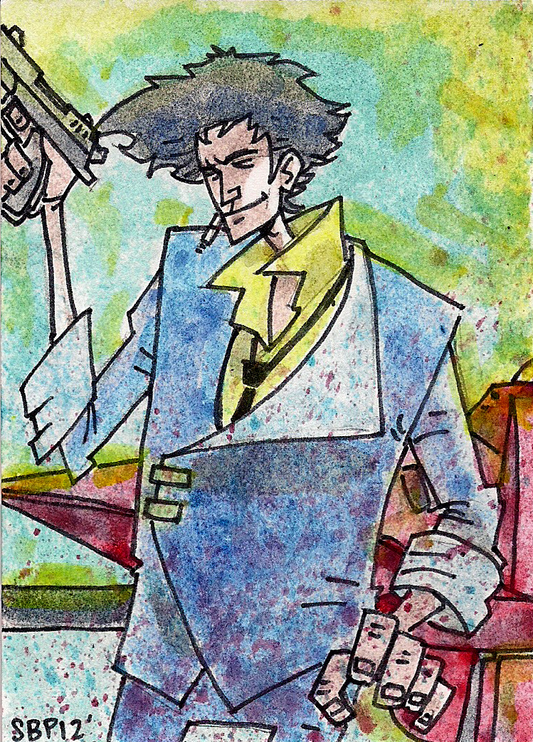 Spike Spiegel by SpencerPlatt