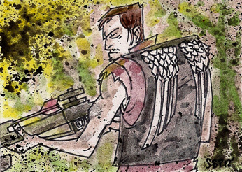 Daryl Dixon by SpencerPlatt