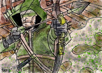 Green Arrow by SpencerPlatt
