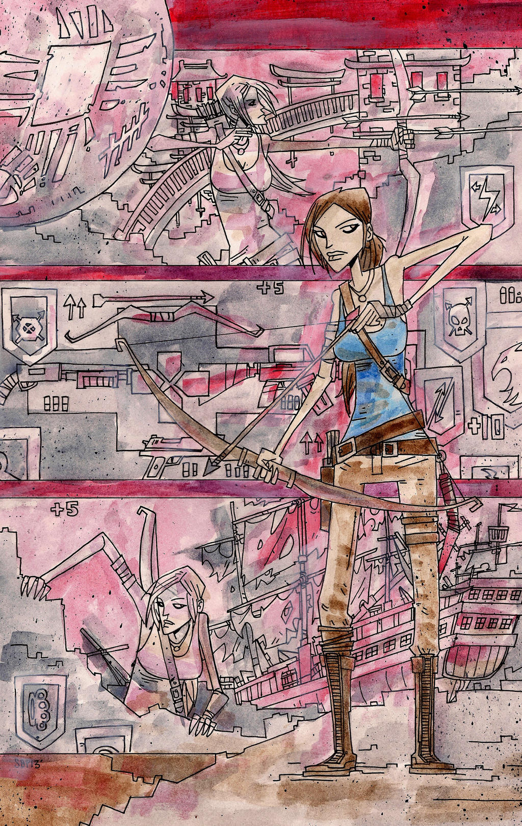 Tomb Raider Contest by SpencerPlatt