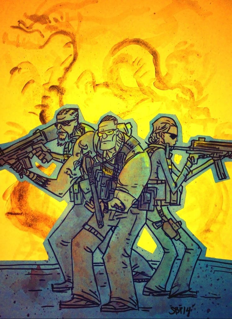 Sabotage Sketch by SpencerPlatt