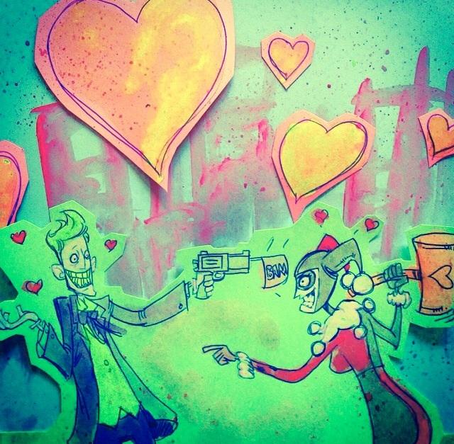 Joker and Harley- Dangerous Love by SpencerPlatt