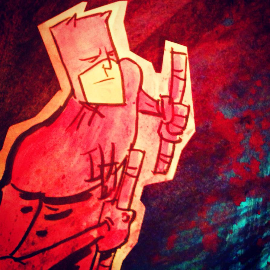 Daredevil mini sketch by SpencerPlatt