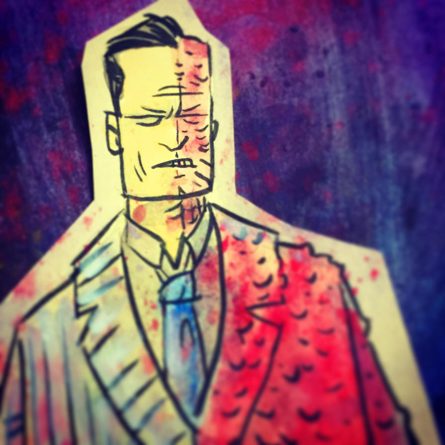 Two Face Sketch by SpencerPlatt