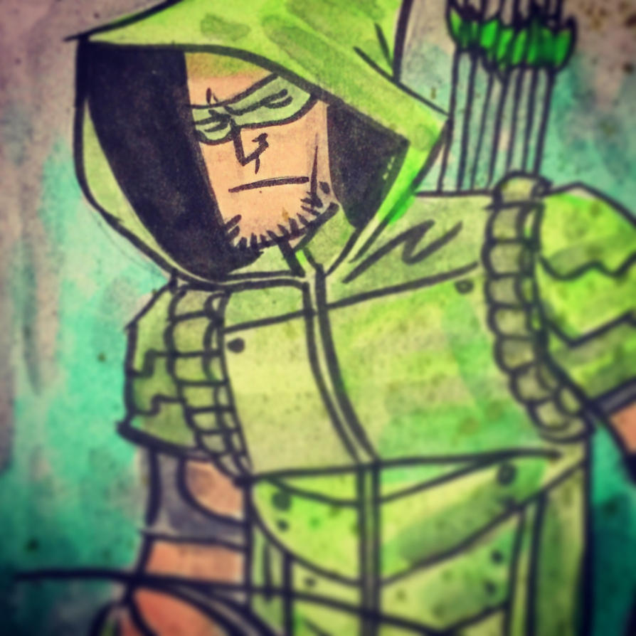 Arrow Sketch Card by SpencerPlatt