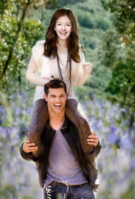 Jacob and Renesmee....Imprints by TwilightGirlzBFF on ...