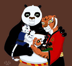 The Ping Family by angeltiger777