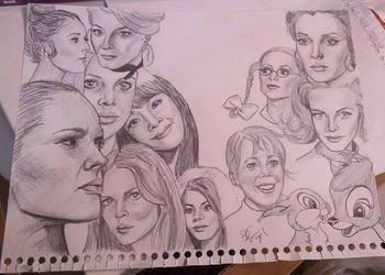 Bond Girls Pt 1 by bexonfire