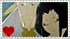 Shichiroji x Yukino stamp by TheLadyFaith