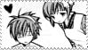 Hiruko and Mizuki stamp by TheLadyFaith