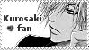 Kurosaki fan stamp by TheLadyFaith