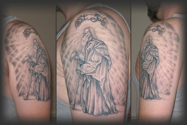 St Jude Tattoo by Puku on DeviantArt