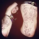 Part 1of3 Octapus Tattoo