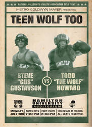 Teen Wolf Too Boxing Poster by phelpster