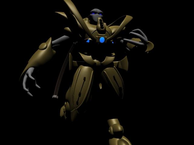 Starcraft Zealot 3D by philbot