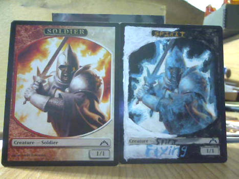 Magic: The Gathering Altered Soldier Token