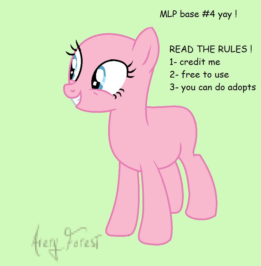 Mlp Base no:4 Yay by S-leepyNight