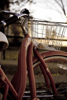 I can ride my bike...