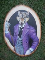 Dapper Wolf by scerrycherry