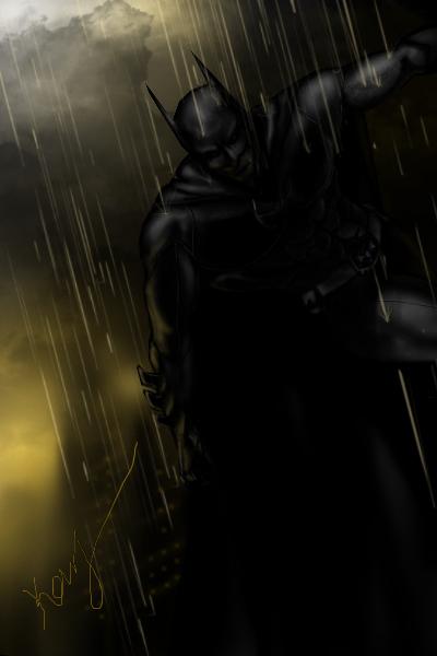 Batman by mrkmhtet