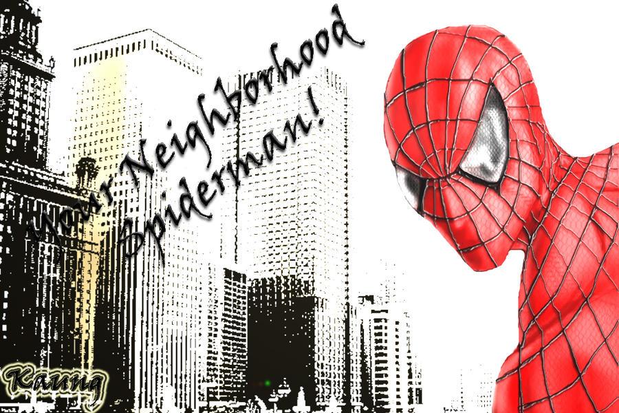 The amazing spiderman by mrkmhtet