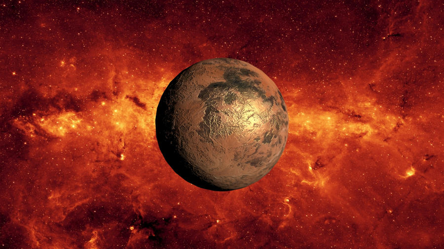 Unknown Planet by mrkmhtet