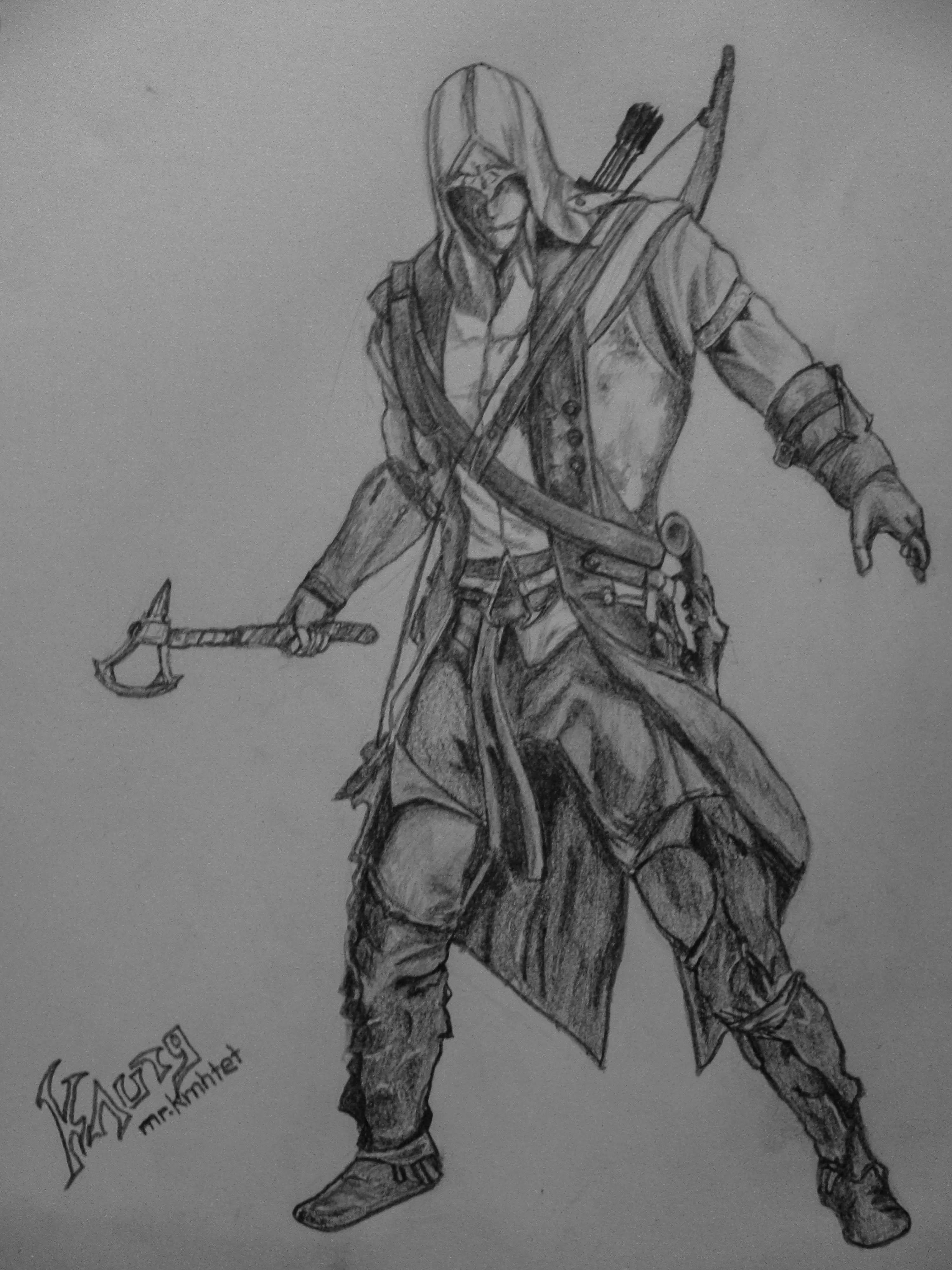 Assassins Creed III by mrkmhtet