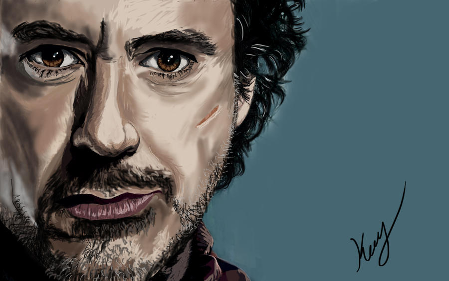 Sherlock Holmes by mrkmhtet