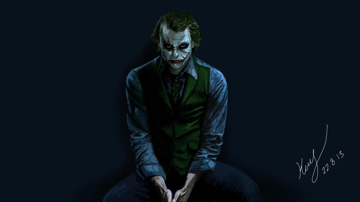 Joker by mrkmhtet