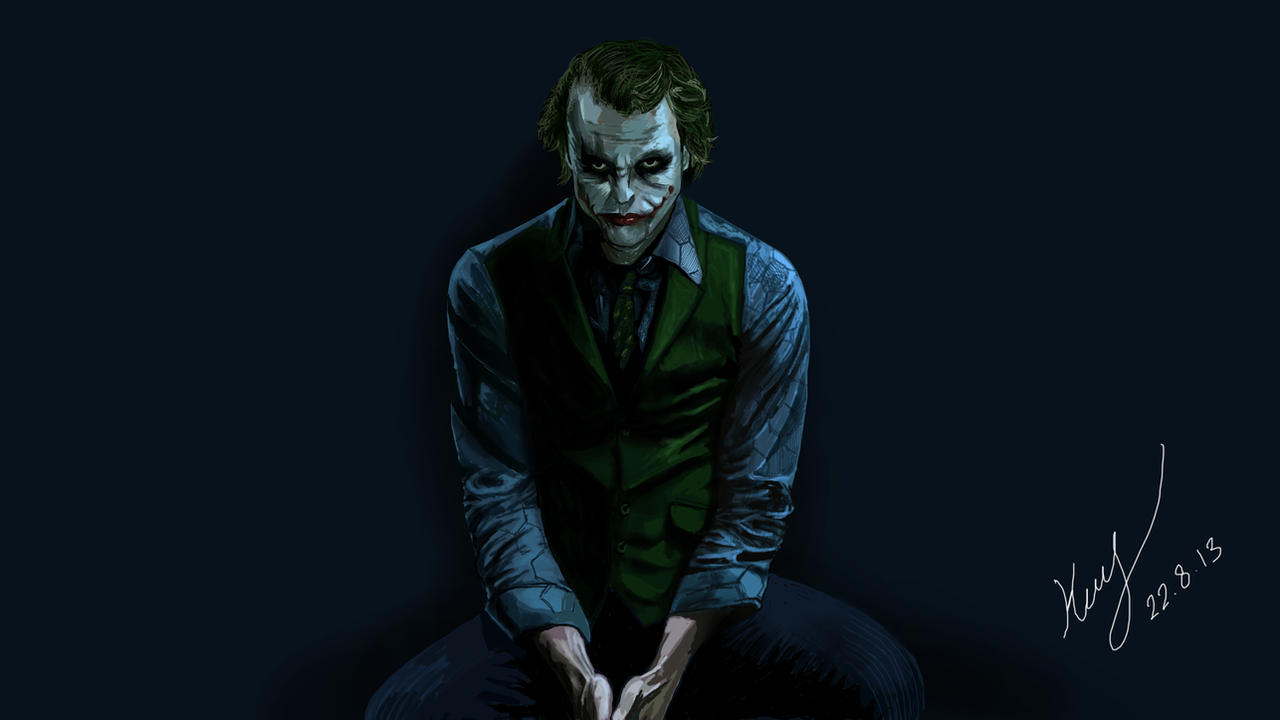 Joker by mrkmhtet