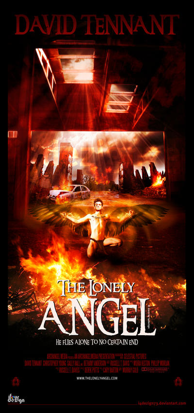 Concept Film Poster: The Lonely Angel by i4dezign73