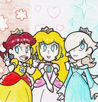 Princesses by Bowsaremyfriends
