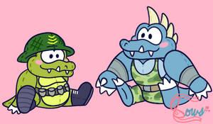 Kuddly Kremlings by Bowsaremyfriends