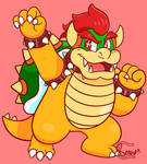 Koopa Week Day 1: Bowser by Bowsaremyfriends
