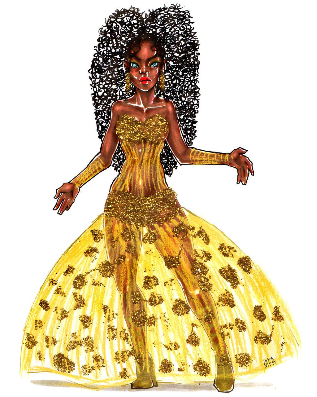 Golden Universal Tarot: Golden Glitter By Universal-nifa On DeviantArt