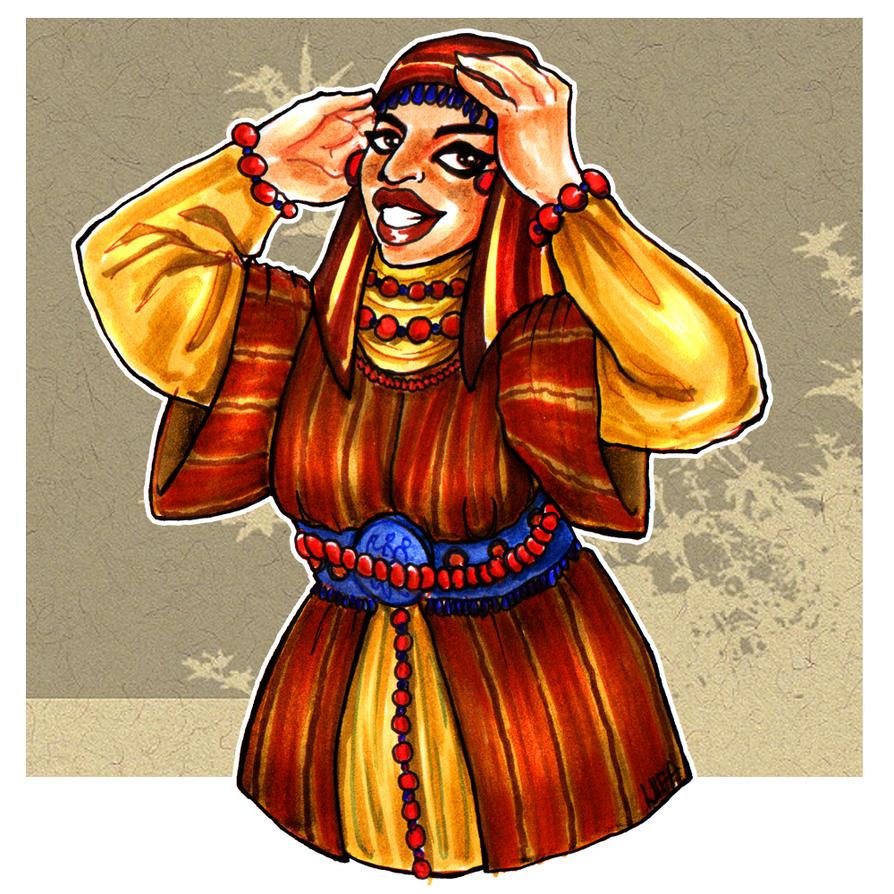 Haleemah Ghumari by universal-nifa