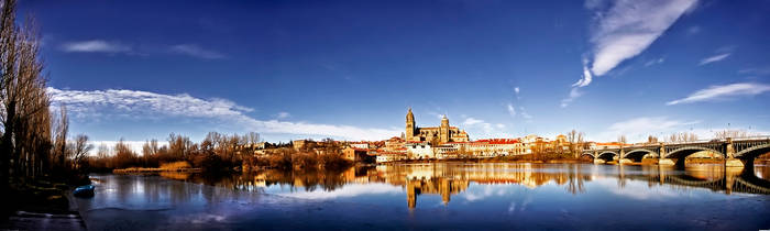 Salamanca Panorama by justinblackphotos