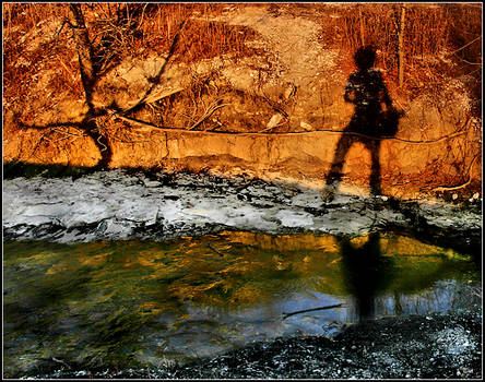 Reflection of my Shadow