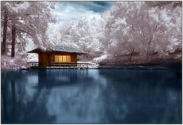 Japanese Tea House by justinblackphotos