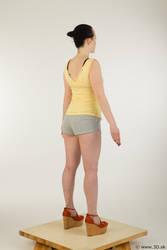 0006 Hazel - Whole Body Reference by 3DskPhotoReference