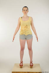 0001 Hazel - Whole Body Reference by 3DskPhotoReference