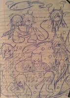 [Tibumeru] Cam/Neo OTP Doodle Sheet by NotDamien