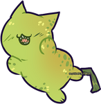 The Biting Pear of Salamanca but as a cat