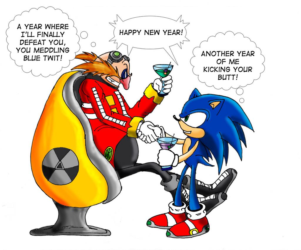 New Year Sonic Eggman