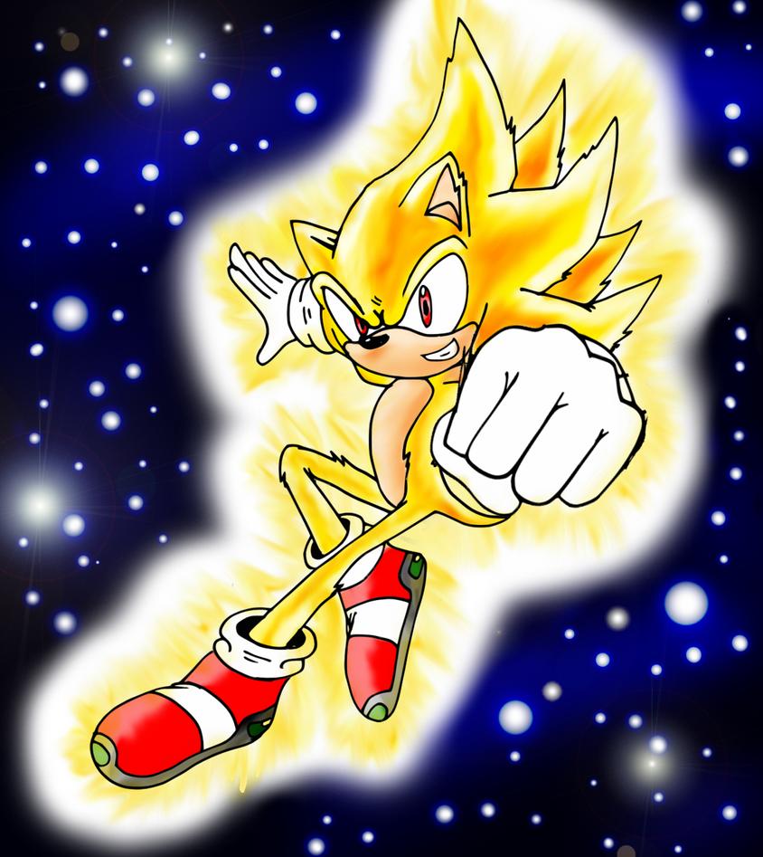 Super Sonic by RaianOnzika on DeviantArt