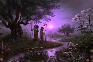 Dark Fantasy Swamp