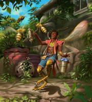 Fairy Beekeeper